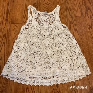 NWOT Urban Outfitters Ecote crochet camisole